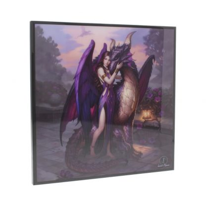James Ryman Small Dragon Sanctuary Gothic Crystal Clear Picture