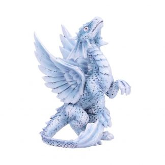 Anne Stokes Small Silver Dragon Age of Dragons